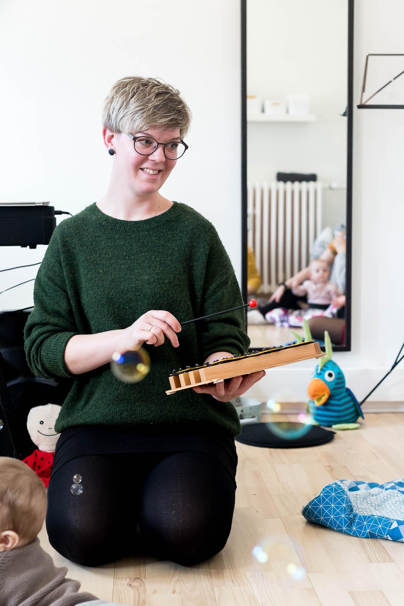BabyRytmik 4-12 mdr. Anna Klinkby